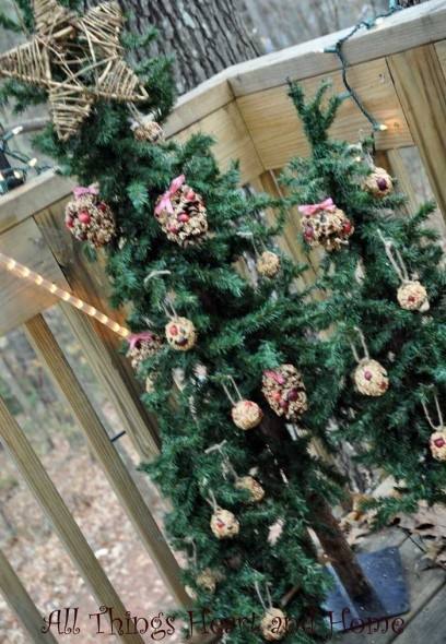 Christmas Trees For The Birds, Christmas Crafts