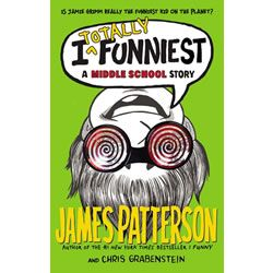 Jamie Grimm is back is the third book in James Patterson's bestselling I FUNNY series! http://www.mastermindtoys.com/I-Totally-Funniest-A-Middle-School-Story-Hardcover-Novel.aspx