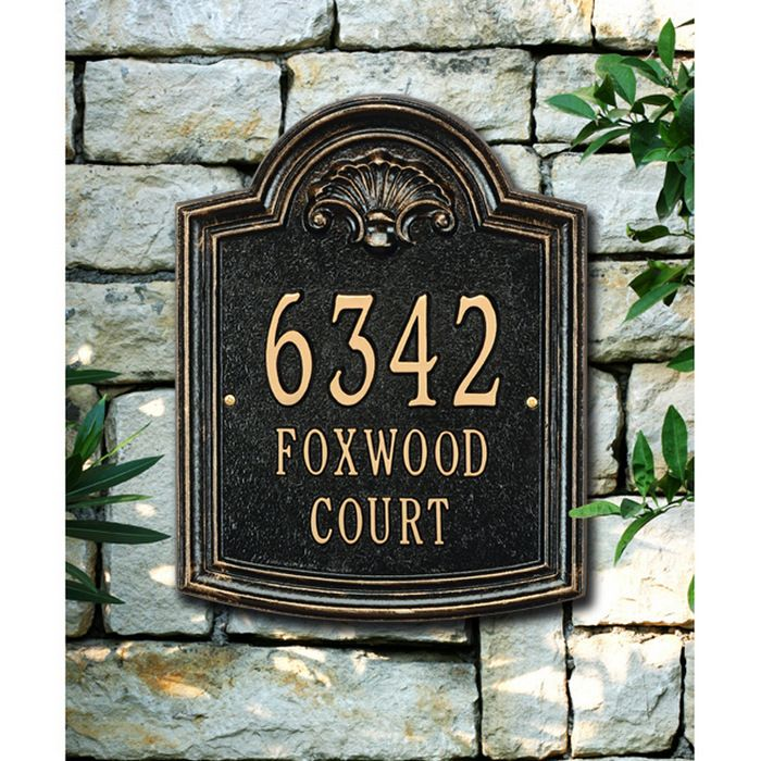 172 best wall address plaques images on Pinterest Address plaque