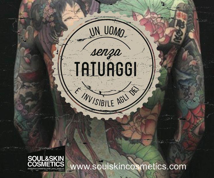 Un uomo senza tatuaggi è invisibile agli dei