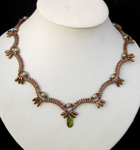 collier nammu   From the pattern of Créations Perles Alexarg…   Miriam Shimon   Flickr