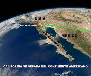 Blog de palma2mex : Baja California se separa de México y del continen...