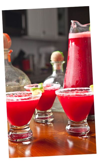 Key West Cooler (Makes 3 servings, 12 oz. each) Ingredients 3 oz. Margaritaville® Tequila 1 1/2 oz. Cointreau® 1 1/2 oz. Cranberry Juice 3 o...