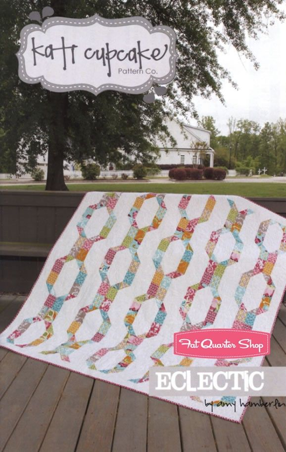 Eclectic Quilt Pattern<BR>Kati Cupcake
