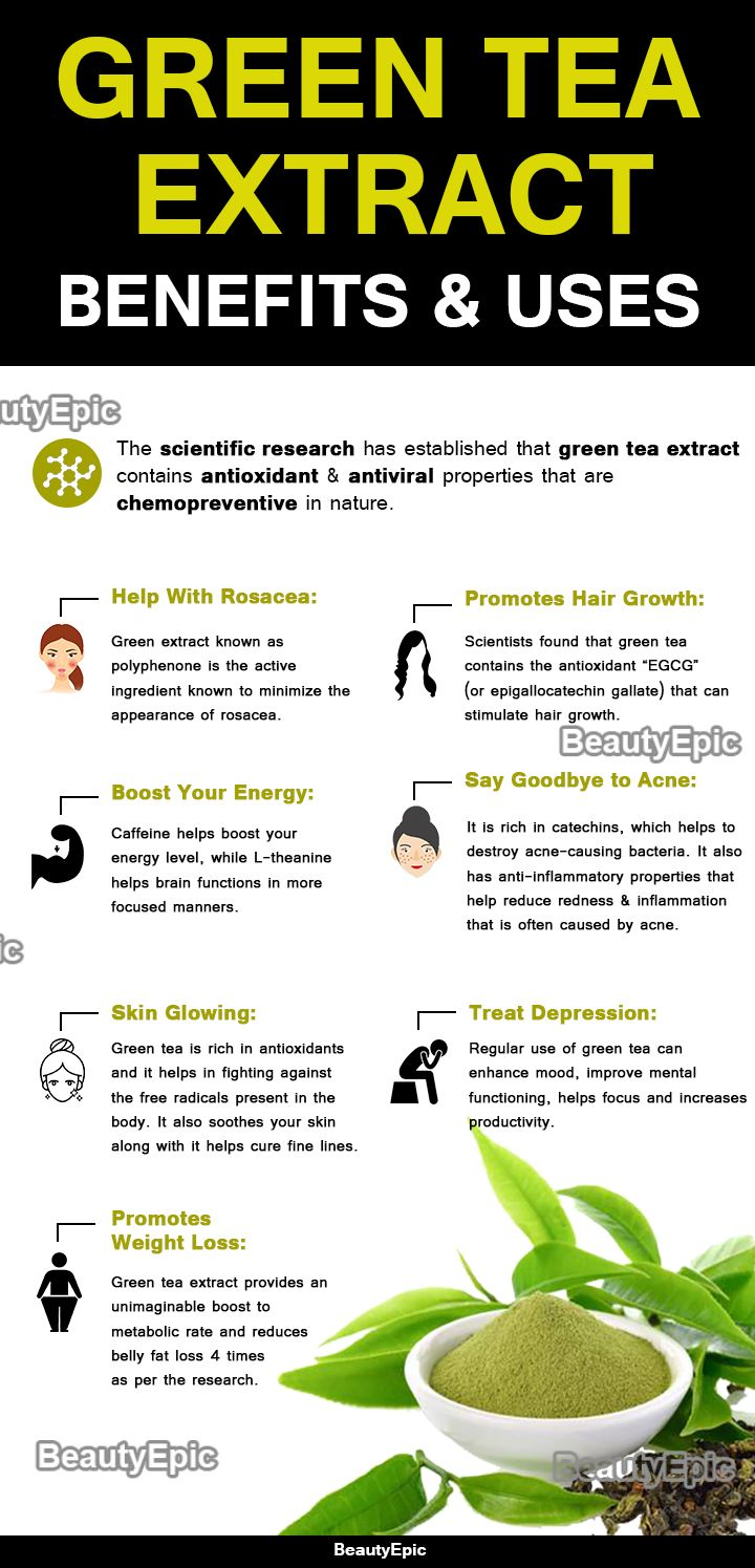 Green tea extract - benefits for the whole body 2