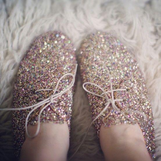 Anniel Soft Shoes Glitter Multicolor www.annielmoda.com