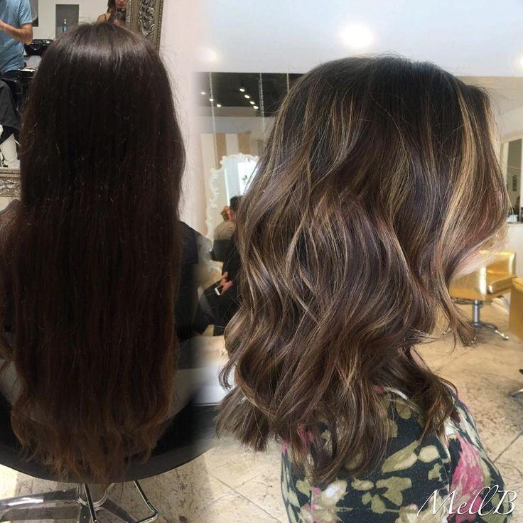 awesome Техника калифорнийское мелирование на темные волосы (50 фото) — Окрашивание на средние и короткие локоны Читай больше http://avrorra.com/kalifornijskoe-melirovanie-na-temnye-volosy-foto/
