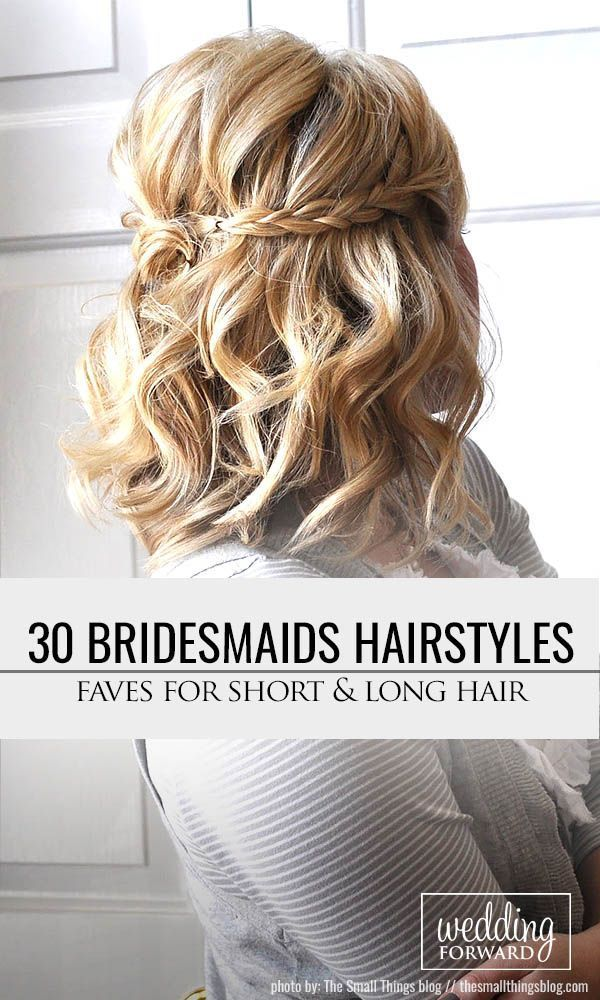 48 Hottest Bridesmaid Hairstyles For 2019 + Tips & Advice