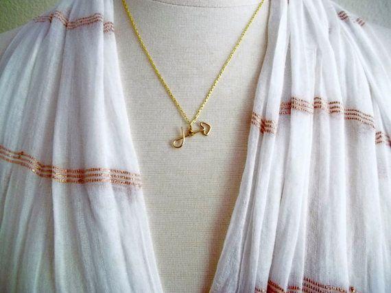 Collana zodiacale Sagittario zodiaco oro di JenniferRexJewelry