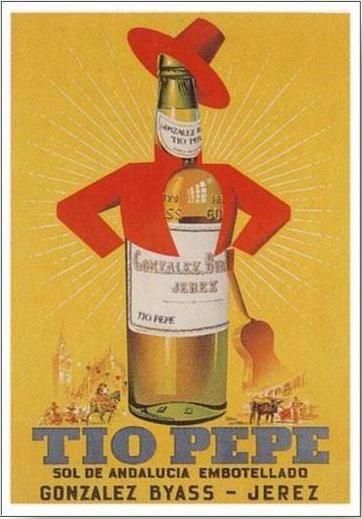 cartel Tio Pepe
