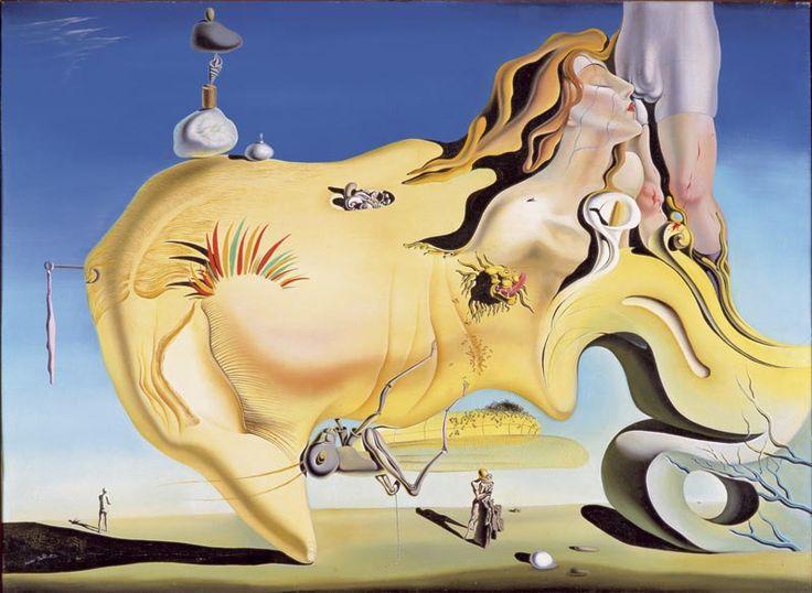 Art contemporani, El gran Masturbador de Dalí, Surrealismo