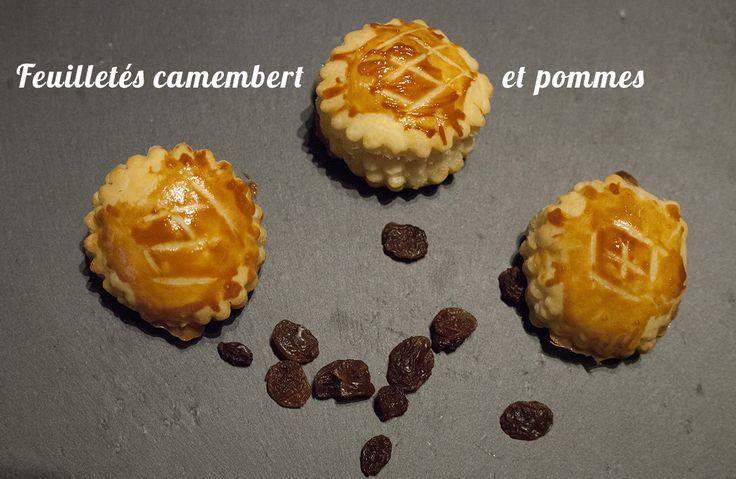 "#Danish #pastry with ""Camembert"" and Apples"
