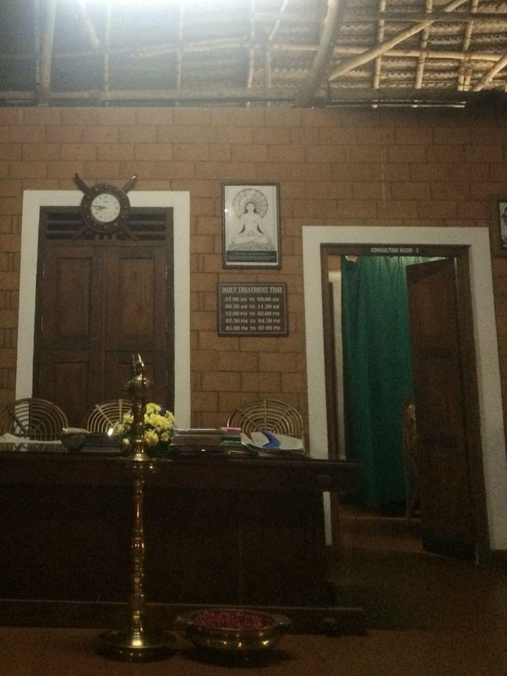 Ayurveda center, Manaltheeram