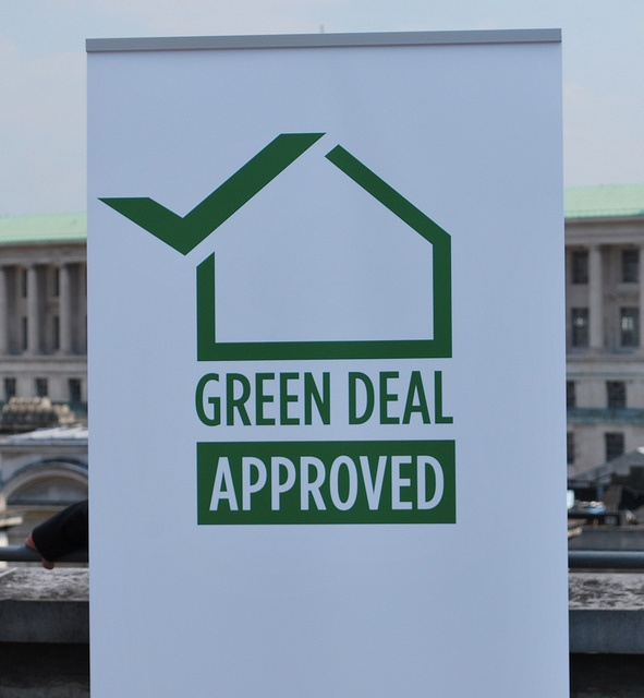 Green Deal quality mark by DECCgovuk, via Flickr