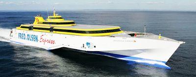 My Happy Place: Viajar entre las Islas Canarias: ¿Naviera Armas o Fred Olsen Express?