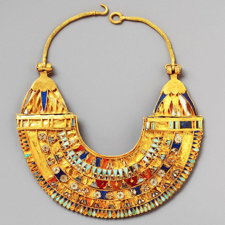 "detailsdetales: "" Miniature Broad Collar Necklace (c. 332 ..."
