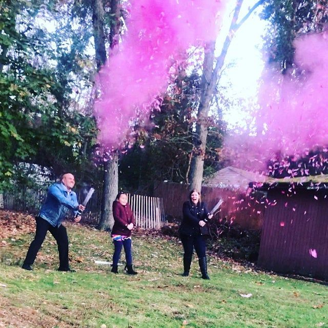 24 Confetti Powder Cannon Gender Reveal Both Smoke Powder And Confetti In One Cannon Smoke Powder Cannons And Confetti Cannons Pink Blue Gender Reveal Gender This Or That Questions