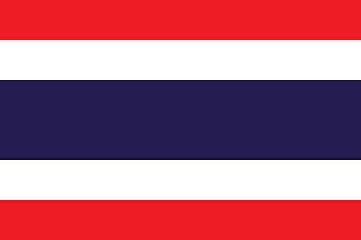 Flag of Thailand - Galeria de bandeiras nacionais – Wikipédia, a enciclopédia livre