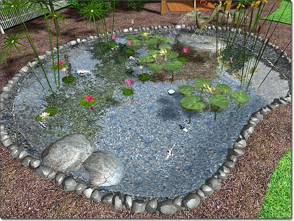 17 best images about pond ideas on pinterest raised pond for Koi pond plant ideas