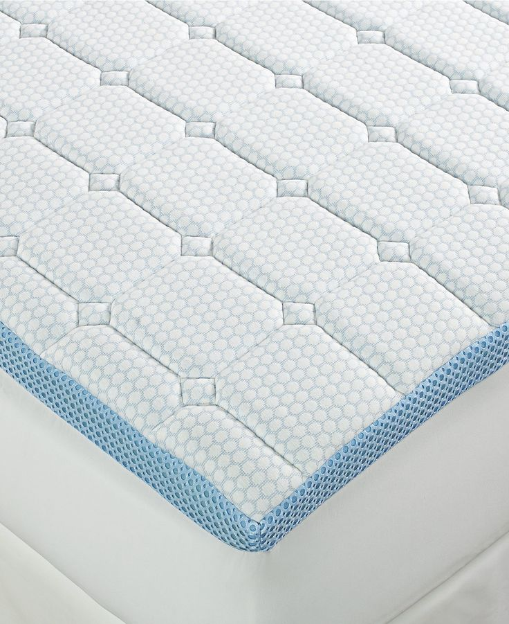 sensorgel 3 quilted memory foam mattress toppers mattress pads u0026 toppers bed