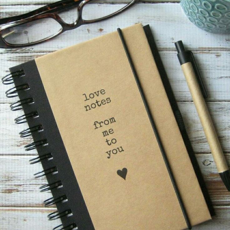 Give your Valentine a journal full of your Love.