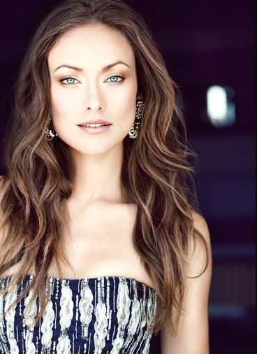 Olivia Wilde - her makeup is stunning in this photo.