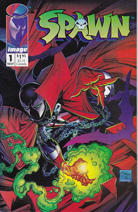 Spawn 1  May 1992 Issue  Image Comics  Grade NM