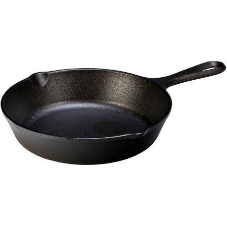 Lodge Logic 9 inch Cast Iron Skillet, Black