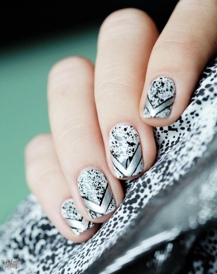 Nail art inspiration Claudie Pierlot