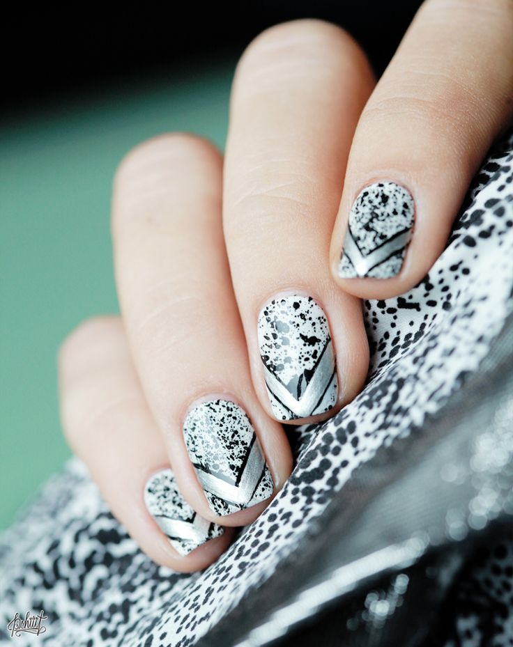 Nail art inspiration Claudie Pierlot