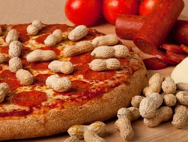 Like the taste of Thai? Then be sure to order fresh out of the oven the Spicy Peanut Butter Pizza at John's Incredible Pizza---this one has a kick to it! www.johnspizza.com
