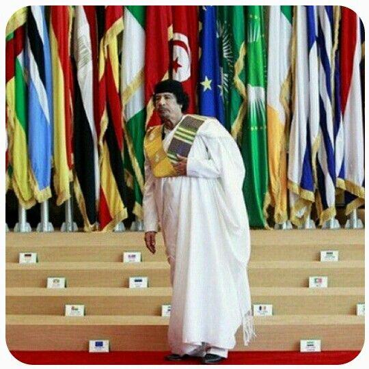 معمر القذافي..