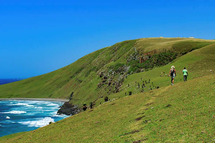 On our way from Coffee Bay to Hole in the wall. Wild Coast, Eastern Cape