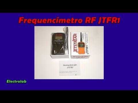 Review - Frequencimetro de RF JTFR1 - YouTube