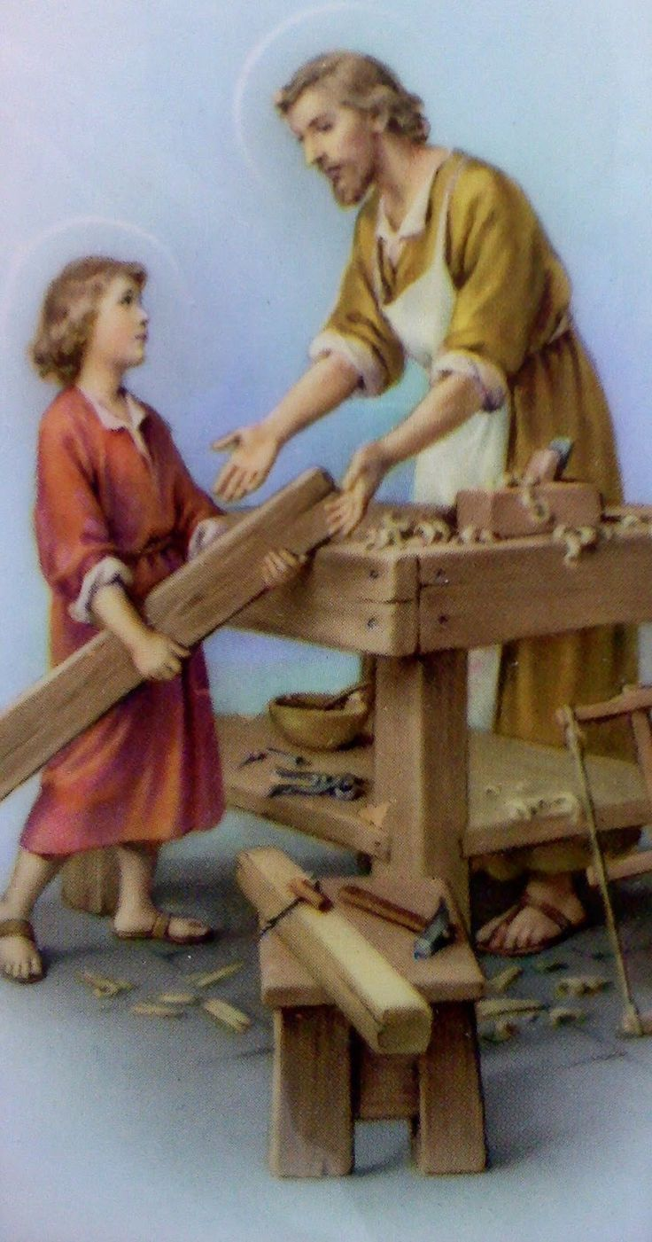 Carpentry Carpenter Woodworker Woodworking Wooden: 25+ Best Ideas About St Joseph On Pinterest