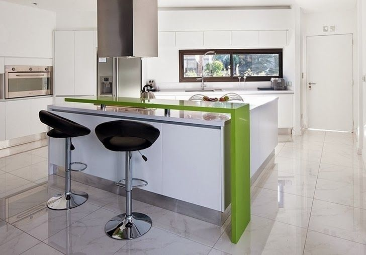 Kitchen in Minimalist Casa Carrara by Andres Remy Architects