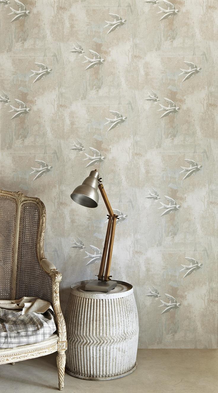 Bird wallpaper by Barnaby Gates