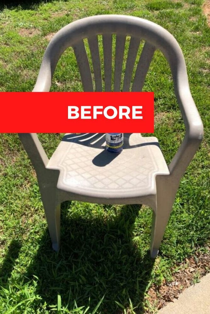 Diy Plastic Chair Makeover Ideas Outdoor Plastic Chairs Plastic Chair Plastic Outdoor Furniture