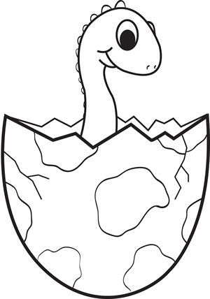 Fossil Coloring Pages