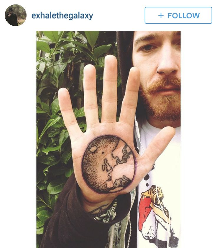 142 best globe world tattoos images on pinterest world for World in hands tattoo