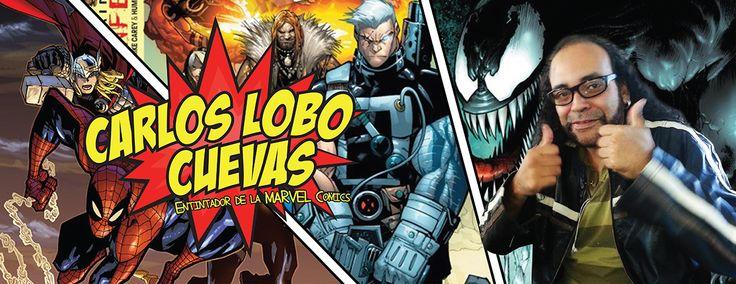 CARLOS CUEVAS Entintador de la MARVEL Comics Invitado ANIMA FEST 2013