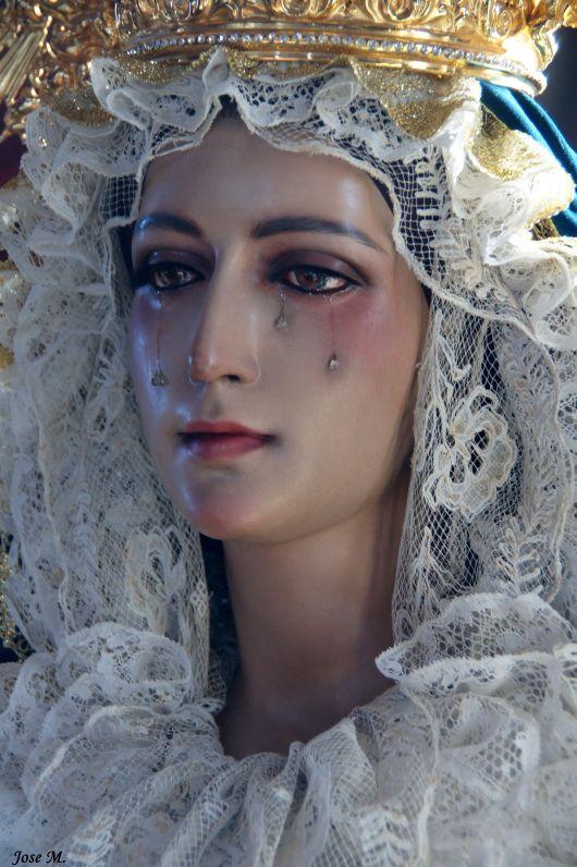 Our Lady of Sorrows ~ via pocula.tumbler.com