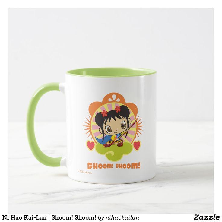 Ni Hao Kai-Lan | Shoom! Shoom! Regalos, Gifts. Producto disponible en tienda Zazzle. Tazón, desayuno, té, café. Product available in Zazzle store. Bowl, breakfast, tea, coffee. #taza #mug