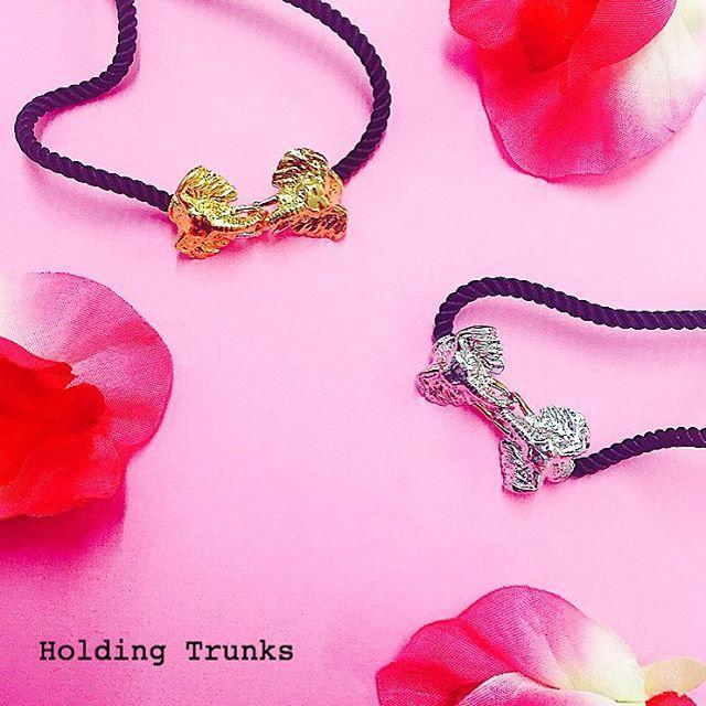 ✨ We have lots of new & exclusive pieces online plus on offer, including these gorgeous #Elephant friendship bracelets!  ✨  #BillSkinner #elephantbracelet #friendshipbracelet #elephanttrunk