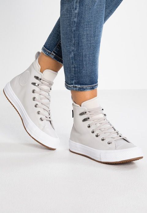 7d3bc4a8354 Converse CHUCK TAYLOR ALL STAR WP - Sneakers hoog - pale putty/white -  Zalando