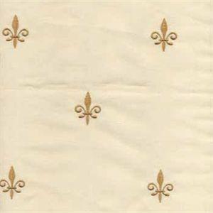 Faux Silk Fleur De Lis Butter Drapery Fabric   21523   Buy Fabrics   Buy  Discount