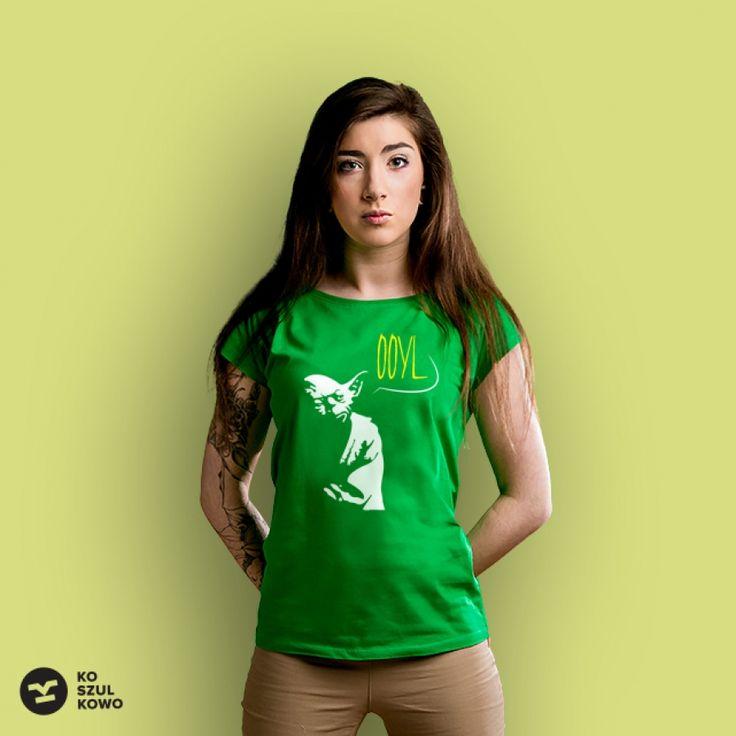 Yoda YOLO  #koszulkowo #koszulka #fashion #tshirt #women #starwars #yoda #yolo