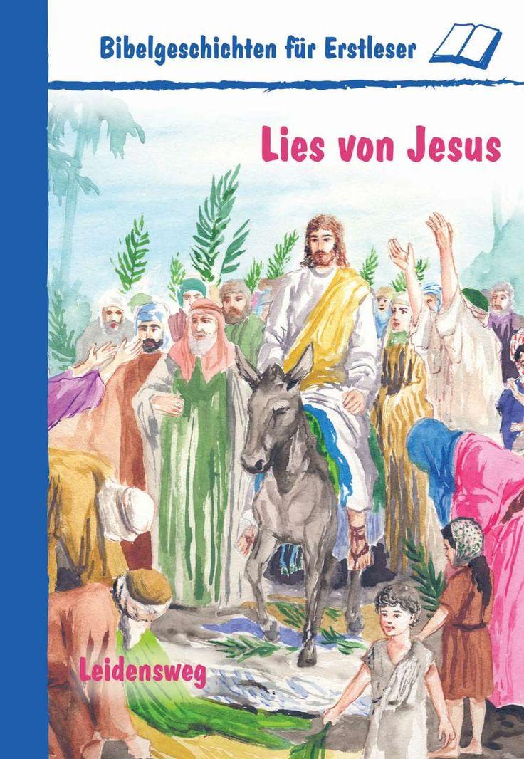 Endlich biblische Geschichten selber lesen! Große Schrift und schöne Bilder bereiten dir einen ersten Lesegenuss. Lies von … – Jesu Kreuzigung – der Wache vor dem Grab – von Jesu Auferstehung – Maria Magdalena und Jesus – Jüngern auf...