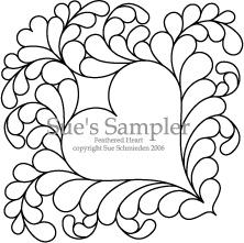 Feathered Heart: Sue's Sampler by Sue Schmieden SSS1-7
