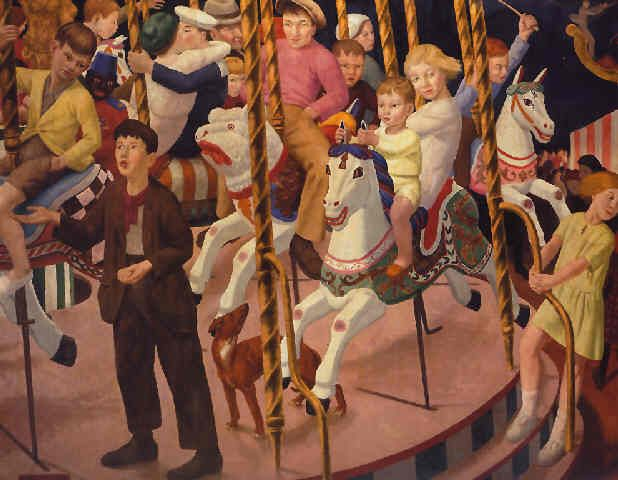The Merry-Go-Round by Ernest Procter